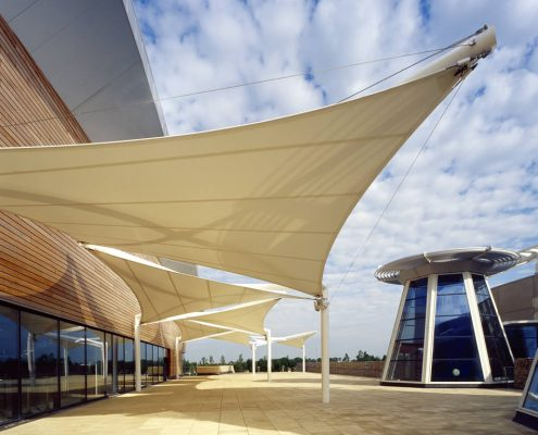 HYPAR & Tensile Canopy Structures - Downer International